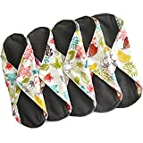 Heart Felt Reusable Sanitary Pads for Women, Extra-Large (Pack of 5)