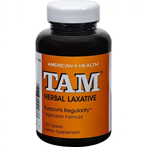 American Health Tam Natural - AMERICAN HEALTH TAM NATURAL HERB LAXATIVE, 250 TAB by American Health