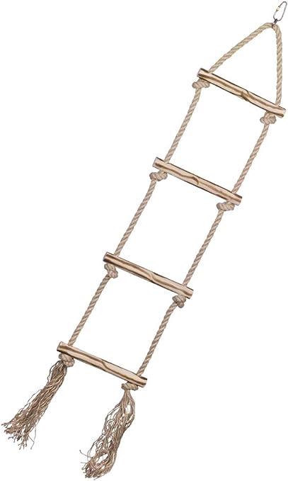 Nobby 31713 - Escalera de Madera con Cuerda de sisal: Amazon.es: Productos para mascotas