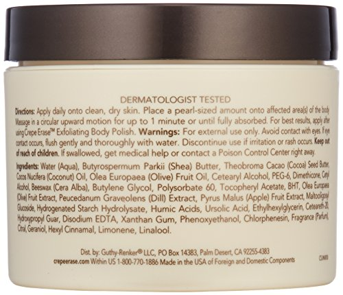 Crepe Erase – Intensive Body Repair Treatment – Smoothing Moisturizer – Shea Butter and Vitamin E for Dry Skin and TruFirm Complex – 10 Ounces – CS.0054 by Crepe Erase (Image #2)