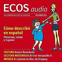 ECOS audio - Cómo describir en español. 11/2012