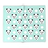 Society6 Panda Polka Dots Pattern Print Minimal Trendy Kids Design Pillow Cell Phone Cute Panda Cub Character 88'' x 104'' Blanket