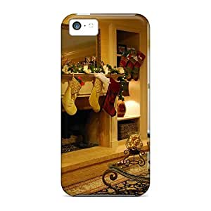 TYH - Excellent ipod Touch4 Case Tpu Cover Back Skin Protector Beautiful Fireplace ending phone case
