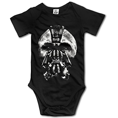 Bane Shadow Movie Poster Gene Farber Toddler Onesies Bodysuit]()