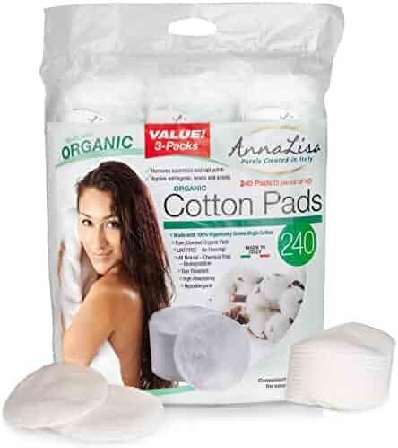 AnnaLisa Italian 100% Organic Cotton Rounds (240)
