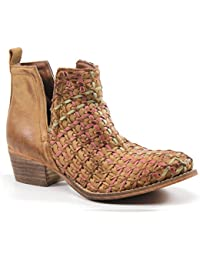 Struck Gold Leather ankle boot