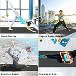 NATARIFITNESS..COM  518s5VTGCWL._SS150_ StillCool TPE Yoga Mat Non Slip Fitness Exercise Mat High Density Padding to Avoid Sore Knees, Perfect for Yoga, Pilates…