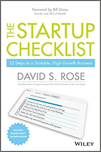The Startup Checklist  Steps To A Scalable HighGrowth Business