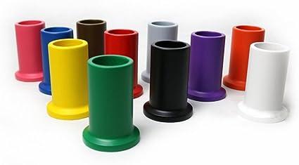 zjkc pintada de madera lápiz titulares en 11 diferentes colores Montessori Set de 11 de colores lápiz titulares niños Montessori material 11 lápices de colores soportes de madera: Amazon.es: Oficina y papelería