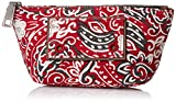 Marc Jacobs Paisley Cosmetics Small Trapezoid Bag, Chili Pepper Multi, One Size