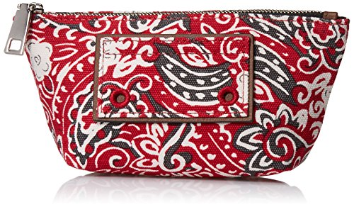 Marc Jacobs Paisley Cosmetics Small Trapezoid Bag, Chili Pepper Multi, One Size by Marc Jacobs