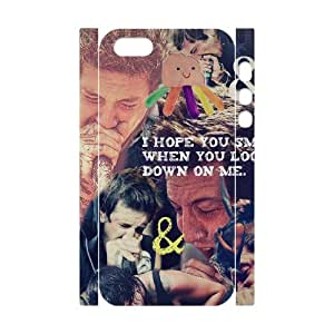 Personalized 3D Phone Case YU-TH93183 for Iphone 5,5S w/ Of Mice & Men by Yu-TiHu(R)