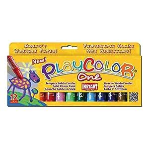 Instant 2610731 - Paquete de 12 lápices de colores con trazo grueso