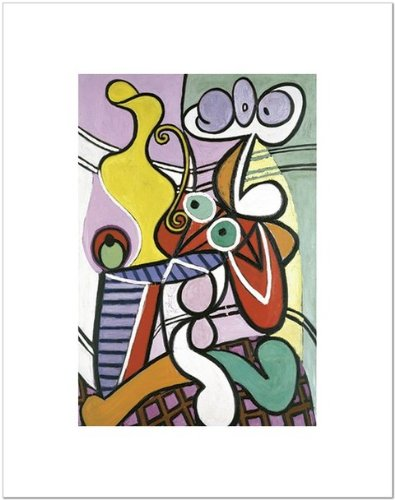 Large Still Life with Pedestal Table by Pablo Picasso Art Print Poster 11x14