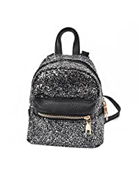 Gillberry Women FashionSchool StyleSequins Travel School Bag Backpack Bag