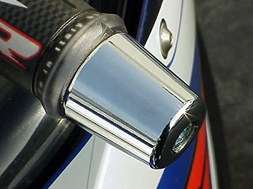 Chrome Bar Ends - i5 Chrome Billet Bar Ends for Suzuki Katana SV650 SV 650 GSXR 600 750 1000 GSXR600 GSXR750 GSXR1000