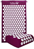 Halsa Mat and Pillow Set - Purple - Accupressure Mat and Pillow