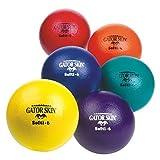 S&S Worldwide 6'' Gator Skin Softi Balls (set of 6)