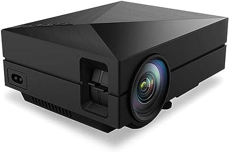 Opinión sobre QK Mini Proyector Portátil HD, Cine en Casa, 30000 Horas Vida con Altavoces,± 15 °Keystone Correction,para Cine en Casa y Presentación