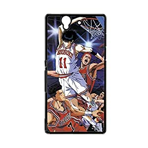 Generic For Sony L36H Xperia Z Print With Slam Dunk Proctecion Back Phone Case For Guys Choose Design 3