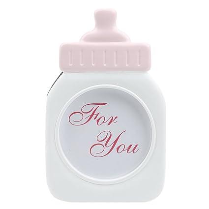 Imported Decorative Pink Baby Bottle Shape Photo Frame Home Decor Fascinating Decorative Plastic Bottles For Shower