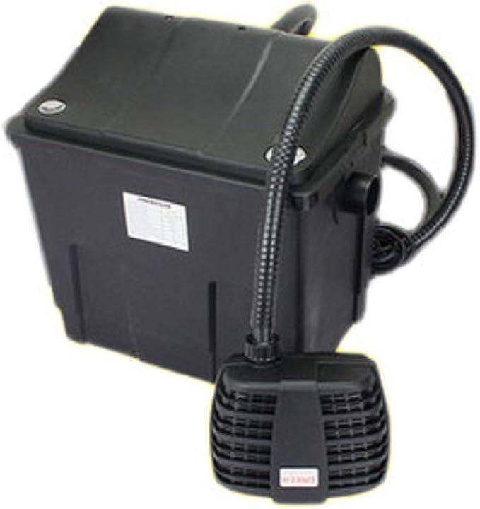cbf-200t Bio Filtro con 2500 L/H Bomba y UVC 9 W Sunsun estanque hasta a 8000 l