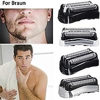 briskay Cabezales de afeitado para Braun Razor 32B 32S 21B 3 ...