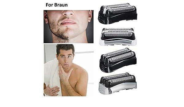 Wateralone Cabezal de Repuesto para afeitadora Braun afeitadora ...