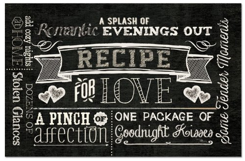 CounterArt Paper Placemat Recipe 24 Pack