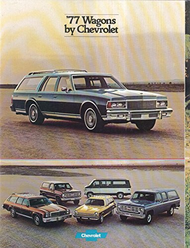 1977 Chevrolet Wagons sales brochure: Caprice Suburban Blazer Malibu ++