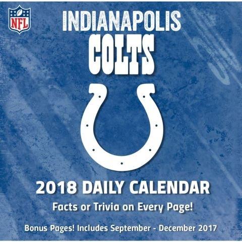 Read Online Indianapolis Colts 2018 Calendar pdf