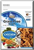 Cheap $3.33 ea. (6 Pack) NutriSource Grain Free Chicken Dog Treats 14 oz