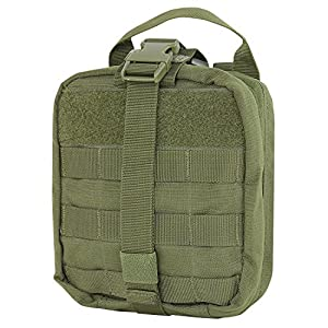 WOLF TACTICAL Rip-Away EMT Pouch - MOLLE First Aid Medical Supply Bag- Premium Military Style Utility Pouch with YKK Zippers - IFAK Emergency Paramedic Outdoor Survival (Bag Only)