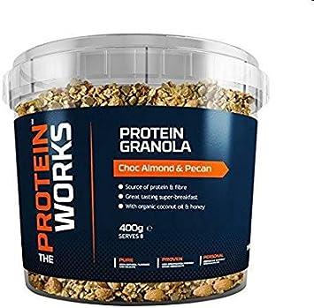 Granola Proteica   Chocolate, almendra y nuez de pecán   400 g   El desayuno fitness perfecto