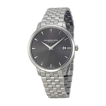 Raymond Weil Analogue Grey Dial Men's Watch - 5588-ST-60001