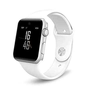 Smart Watch, stoga uwat stga de 18 Smart Bluetooth 3.0 NFC Impermeable Teléfono Móvil Cámara TF Card Reloj de Pulsera para iOS iPhone Android, Samsung