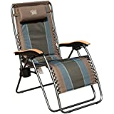 Timber Ridge Zero Gravity Patio Lounge Chair Oversize XL Padded Adjustable Recliner Headrest Support 350lbs