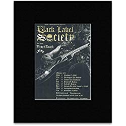 BLACK LABEL SOCIETY - February Tour 2015 Mini Poster - 13.5x10cm