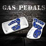 Rosbane(TM) Blue Universal Car Pedal Cover Kit Pad