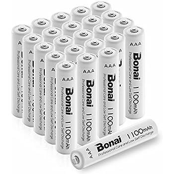 Amazon.com: AAA Rechargeable Batteries High Capacity