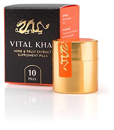 Vital Khai - Natural and Herbal Dietary Supplement, Contains Ginseng, Watermelon Seed, and