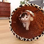 "PAWZ Road Cat Toys Collapsible Tunnel Dog Tube for Fat Cat,Rabbits,Dogs Length 51"" Diameter 12"" 13"