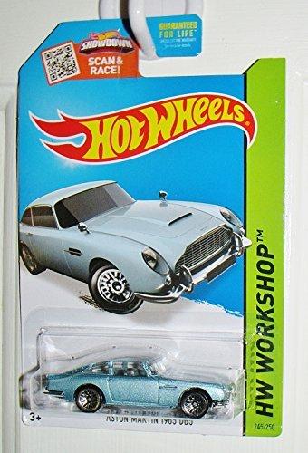 - Hot Wheels, 2015 HW Workshop, Aston Martin 1963 DB5 Die-Cast Car [Blue/Gray] #245/250