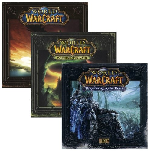 World of Warcraft Soundtrack Collection - World Warcraft Burning Crusade Collectors Edition