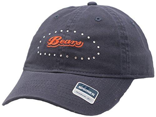 Chicago Bears Womens Buckle Back Hat Rhinestones 2908
