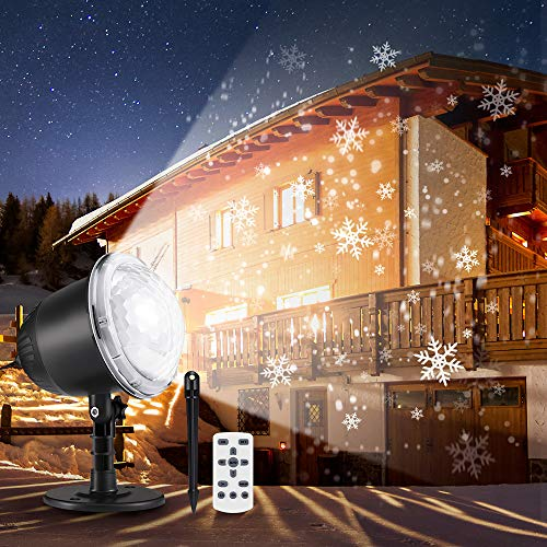 Projector Christmas Snowflake Projection Waterproof product image