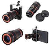 8 x Zoom Optical Lens For Mobilephone Telescope