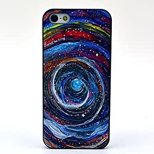 RC - Colorful Swirls Pattern Hard Case for iPhone 5/5S