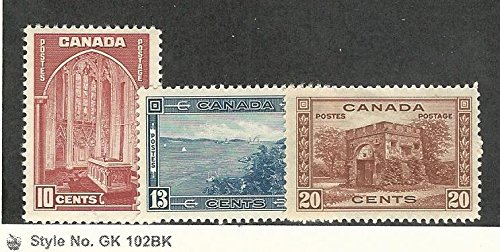 Canada, Postage Stamp, 241-243 Mint LH, 1938