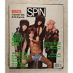 Tommy Lee, Mick Mars, Nikki Sixx & Vince Neil - On Tour with Motley Crue - Spin Magazine - January 1990 - No Address Label! - MBL2